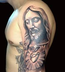 55 amazing christian shoulder tattoos