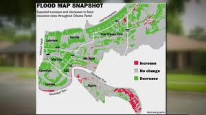 New Orleans Murder Map by Officials Announce Residents Could See A Drop In Flood Insurance