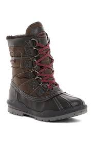 warm womens boots canada aquatherm by santana canada c waterproof faux shearling mid