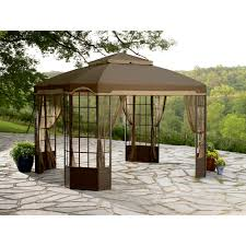 Sears Furniture Kitchener Patios Garden Winds Gazebo Sears Gazebo Replacement Canopy