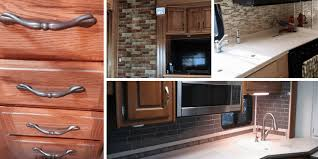 how to lighten dark cabinets without painting 7 ideas for updating wood cabinets without painting them rv