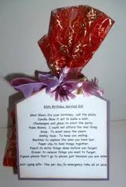 gifts for someone turning 60 60th 70th 80th birthday survival kit gift and by forgetmenotvalley