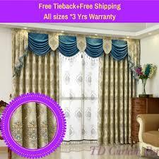 Blue Valance Curtains Bedroom Bathroom Curtains And Valances Purple And Grey Valance