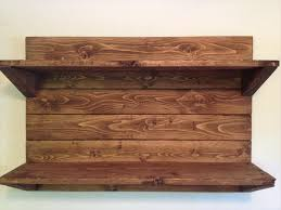 Wooden Shelves Making by Project Diy Floating Wood Shelves Diy Hampedia