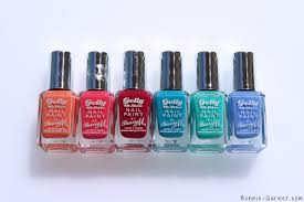 barry m gelly hi shine nail polish my review