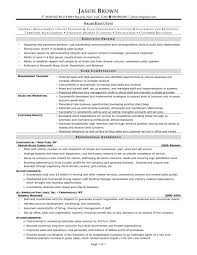 executive resumes samples executive resumes sample resume for