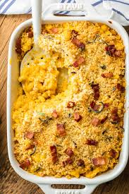 baked pumpkin bacon mac and cheese the cookie rookie