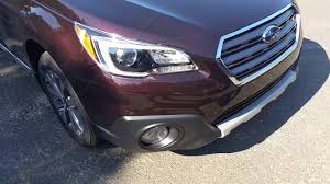 subaru outback 2017 interior 2017 subaru outback touring w saddle brown interior youtube