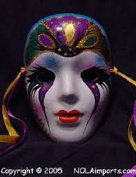 ceramic mardi gras masks for sale large single black eyed painted mardi gras mask ideas