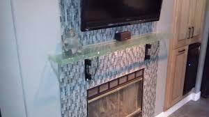 fancy inspiration ideas custom tempered glass shelves manificent