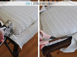 Upholstery Edging The Painted Hive How To Upholster A Chair Attached Seat Pad Method