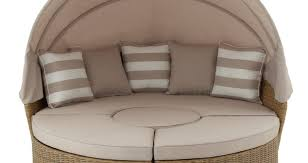 Ideas For Outdoor Loveseat Cushions Design Daybed Round Patio Daybed Design Idea With Canopy For Exterior
