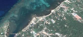 Roatan Map Sandy Bottom