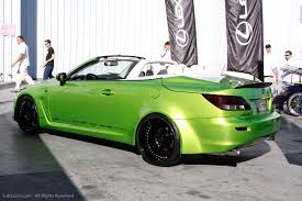 lexus convertible sports car sema show 2009 lexus lfa u0026 lexus is350c by various tuners make