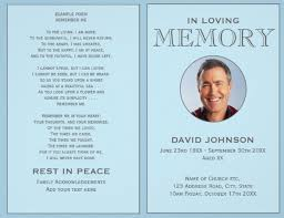 28 funeral program printing services free funeral memorial
