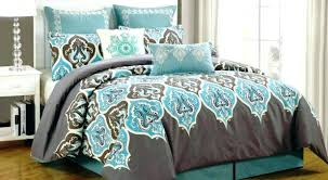 Blue And Brown Bed Sets Blue Brown Duvet Cover Blue Brown Bedding Sets King Ems Usa