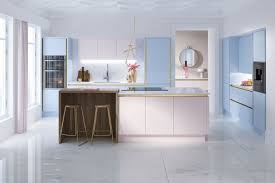 the kitchen collection look at wren kitchens pastel coloured macaroon collection