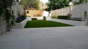 rendered white garden wall ideas how page 1 homes gardens and