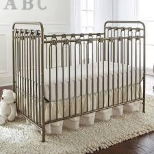 Baby Convertible Crib L A Baby Napa Metal 3 In 1 Convertible Crib Reviews Wayfair