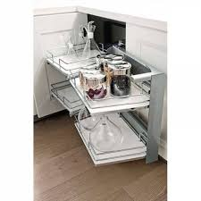 meuble d angle bas cuisine ferrure d angle smart corner extractible pour meuble bas