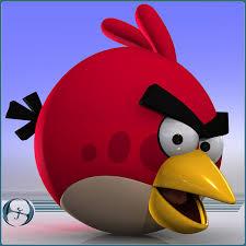 bird character cartoon 3d model