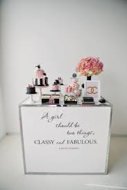 best 25 chanel inspired room ideas on pinterest makeup vanity party inspirations coco chanel inspired party as sweet as it gets