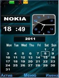 nokia 5130c mobile themes free nokia 5130 clock calendar app download in abstraction tag