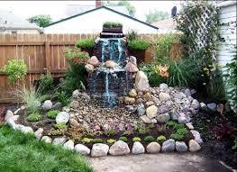 Waterfall Design Ideas Bathroom Ideas Amazing Small Backyard Design With Fresh Flower