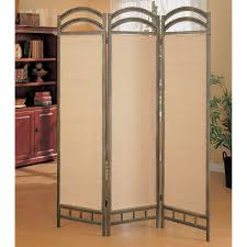 Metal Room Dividers by Coaster Furniture Double Arch Room Divider Hayneedle