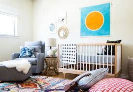 west elm rug before u0026 after a colorful nursery in southern california family