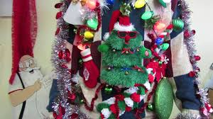 tacky singing tree sweater
