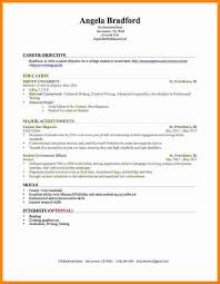 Resume Example No Experience by 7 It Student Resume Sample No Experience Ledger Paper