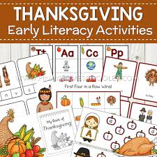 thanksgiving themed rhyme and beginning letter sound bingo