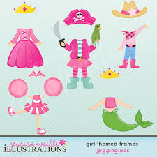 themed frames girl themed frames comes with 5 graphic frames that you can place