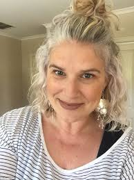 hair styles for a 53 year old women explain why they decided to embrace their grey hair daily