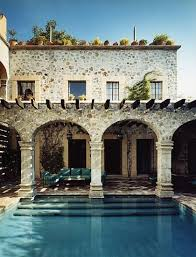 mediterranean house mediterranean house with pool pictures photos and images for
