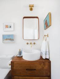 How To Install A Bathroom Sink And Vanity by 68 Readymade Bath Vanities Emily Henderson