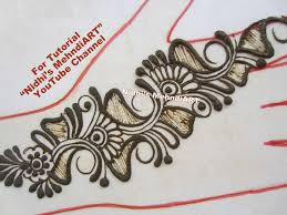 quick arabic mehndi henna designs tutorial for back u0026 front hands
