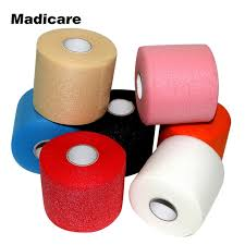 pre wrap headband 7 rolls rainbow sports pre wrap 30 yards underwrap foam bandage