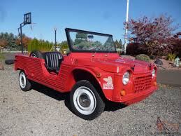 citroen mehari mehari french jeep u2013 rare 1970 u s model u2013 u201crouge hopi u201d red