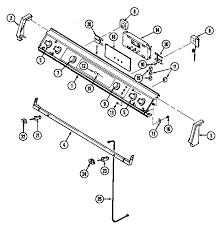 Parts For Jenn Air Cooktop Jenn Air Seg196 Slide In Range Timer Stove Clocks And Appliance