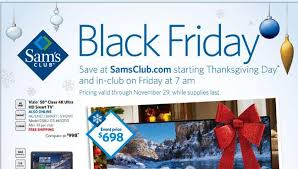 best sam s club black friday 2015 tv deals and schedule