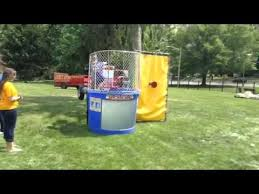 dunk tank rental nj dunk tank rental nj dunk tank at party in new jersey