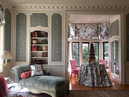 William Hodgins Interiors by The Peak Of Chic Nina Campbell At Greystone Mansion