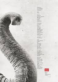 etna print advert by artplan elephant print ads of the world