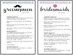 What To Put On Wedding Programs Tips For Tipping