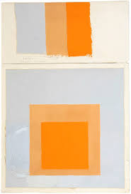 what color is orange josef albers color is a whole world painters u0027 table