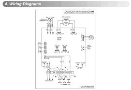 fujitsu air conditioner wiring diagram wiring diagram and