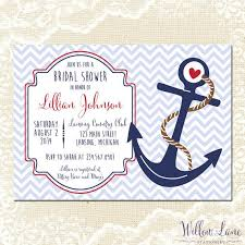 nautical bridal shower invitations nautical bridal shower invitation anchor bridal shower invite