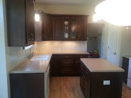 Small Kitchens With Dark Cabinets by Furniture Small Kitchen Design With Corian Countertops